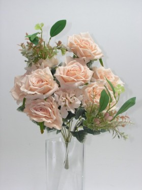 Kytica ruža + hortenzia