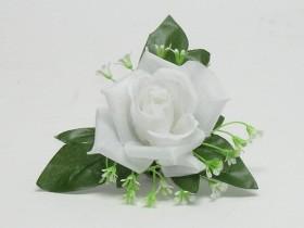 Ruža rozv. hl. s listom malá