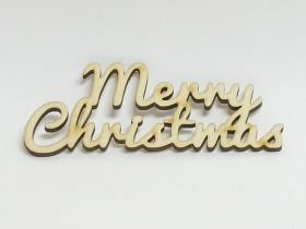 Drev. nápis.:Merry Christmas