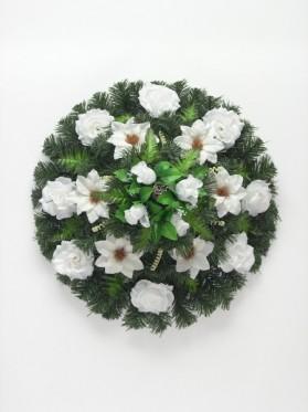 Aranž.veniec kruh+ruža+doplnky