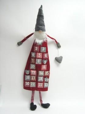 Advent kalendár textil 130 cm