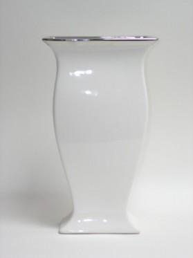 Váza keram.biela