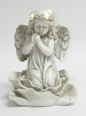 Anjel modliaci sa LED 21,5 cm