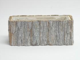 Črepník z kôry 33x12x13