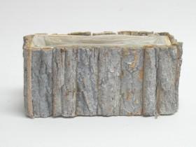 Črepník z kôry 28x12x13