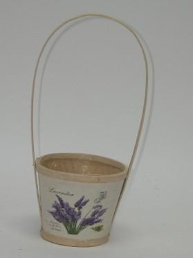Črepník s levanduľou 30 cm