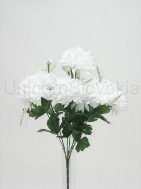 Kytica chryzantéma x 7 s trávou