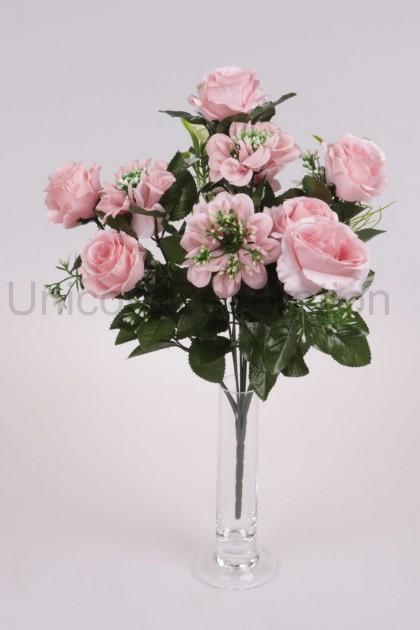 Kytica ruža + dália x 12