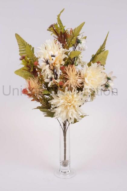 Kytica chryzantéma + prízdoba