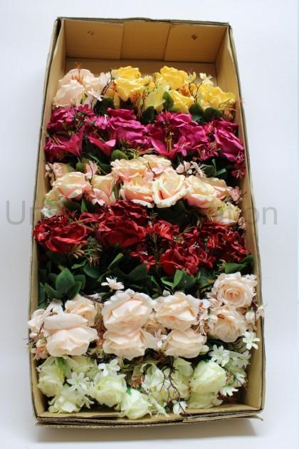 Kytica ruža + ľalia x7