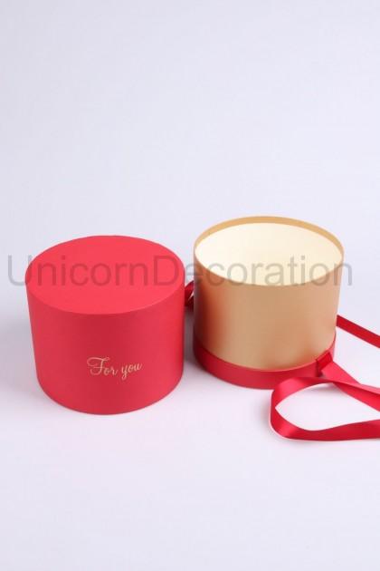 Flower box červený