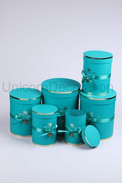 Flower box 6set modrý